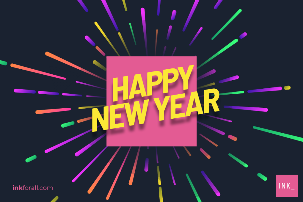 There's only one new year at any given time, so make sure to greet your family and friends Happy New Year!