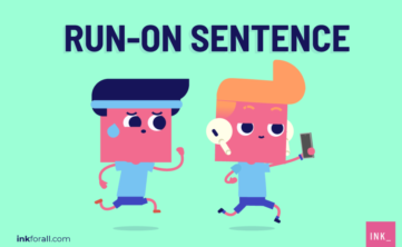 A run-on sentence is a sentence composed of multiple independent clauses that are not separated by a period or properly joined using conjunctions.