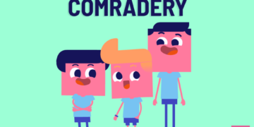 Comradery is another way to spell camaraderie. However, comradery is not as popularly used as camaraderie, and many people view the former as a misspelling.