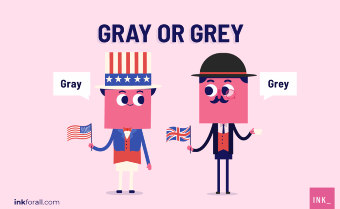 Both grey and gray pertain to the same color. Grey is mostly used by American English users, while British English users prefer to spell it as gray.