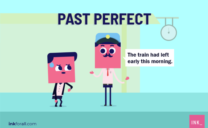 We use past perfect tense when referring to an event that happened at some point in the past.