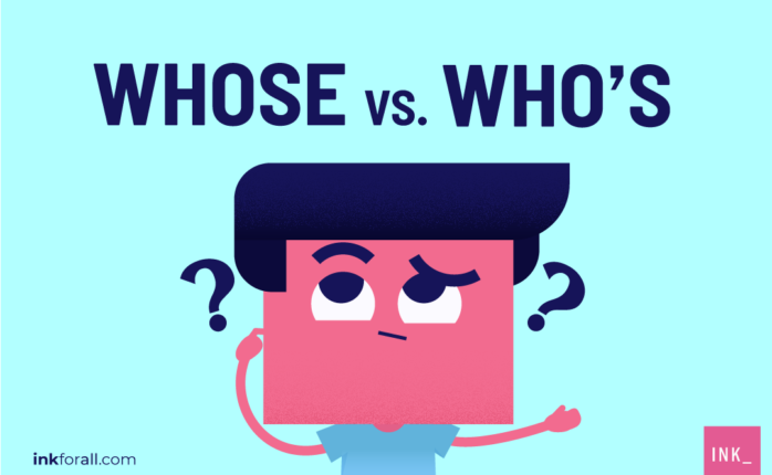 Whose and who's are not interchangeable. Whose is a pronoun that expresses possession. On the other hand, who's is a contraction of the phrase who is.