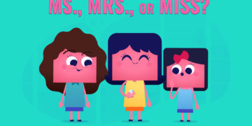 Ms., Mrs., and Miss are all titles or honorifics used to address women.